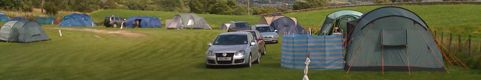 strip campsite