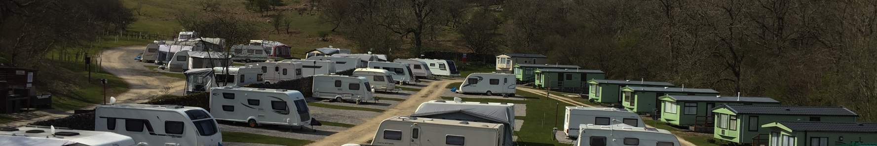 strip touring caravan site