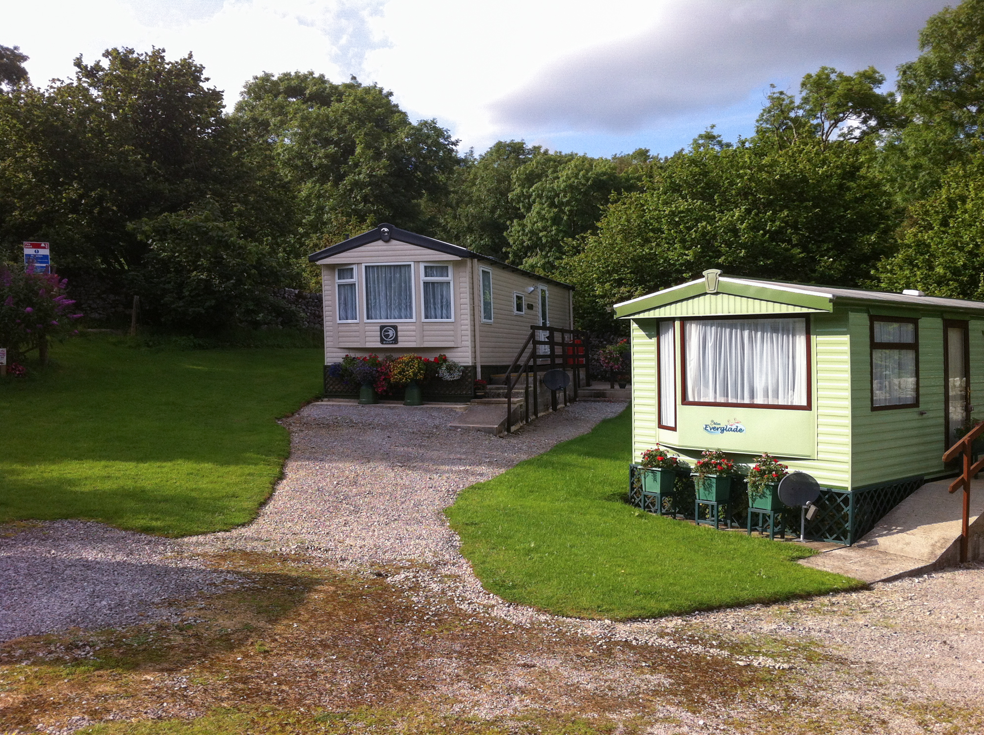 For Sale - Wood Nook Caravan Park in the Yorkshire Dales